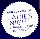 ♥liche Einladung zur Ladies Night!