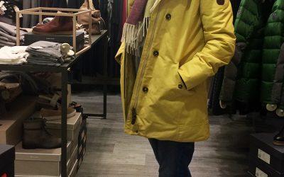 Meine neue Jacke habe ich schon!